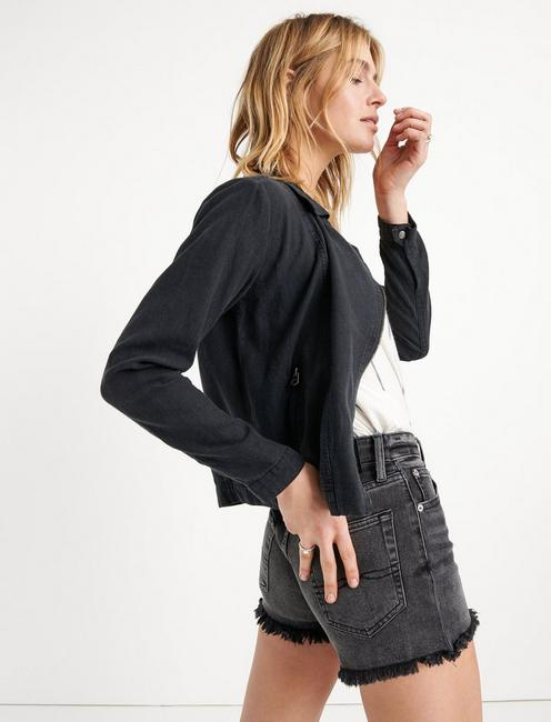 THE ADDY JACKET, 001 LUCKY BLACK