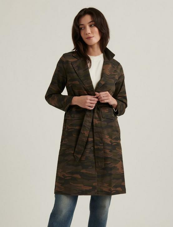 CAMO TRENCH, CAMO OLIVE MULTI, productTileDesktop