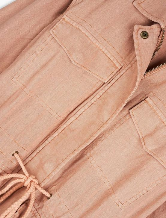 LINEN UTILITY JACKET, DUSTY PINK, productTileDesktop