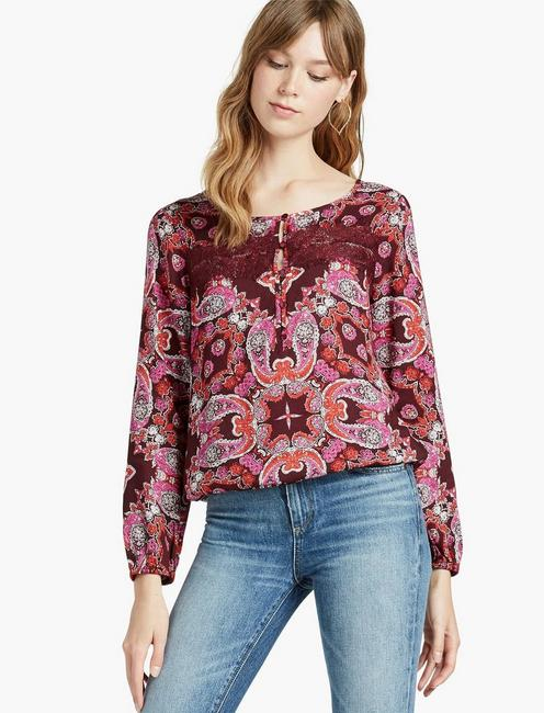 PAISLEY LACE BANDED BTM,