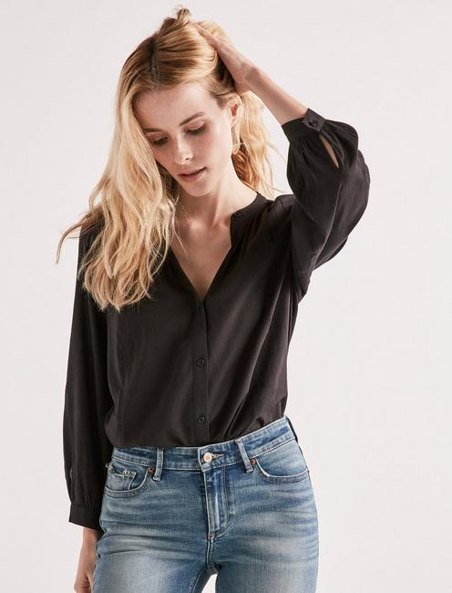 SOLID POET BLOUSE,