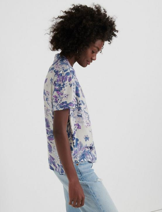 FLORAL BROOKLYN SHIRT, PURPLE MULTI, productTileDesktop