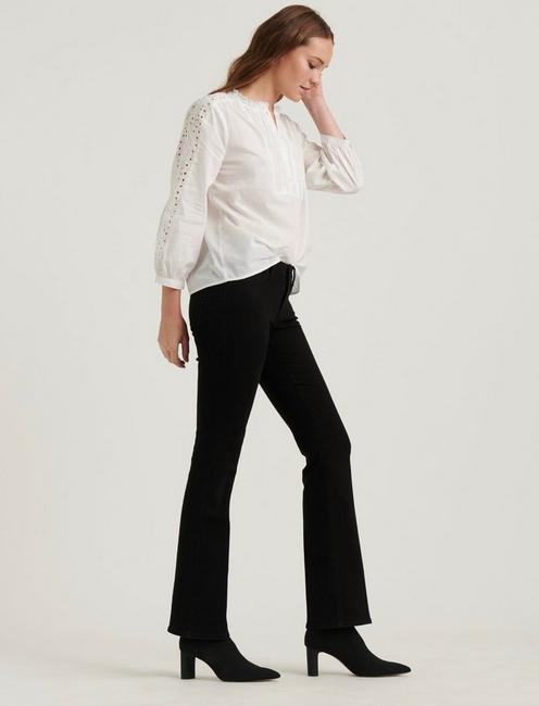 YASMIN EYELET TOP, LUCKY WHITE