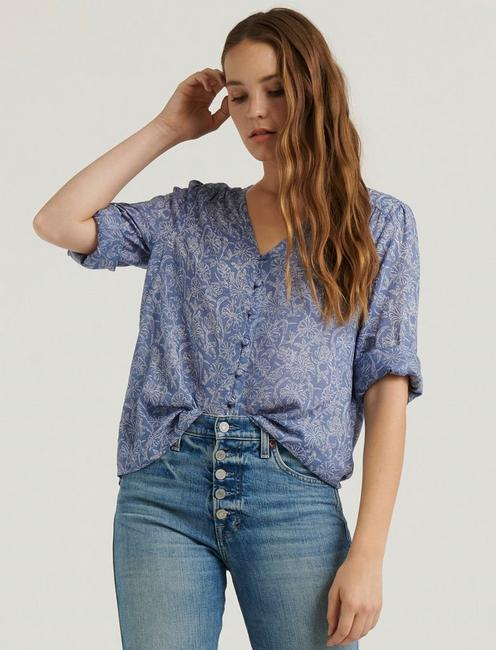 BECCA BUTTON DOWN PEASANT,