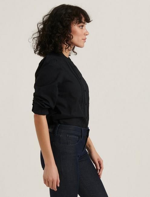 LUCY BLOUSE, 001 LUCKY BLACK
