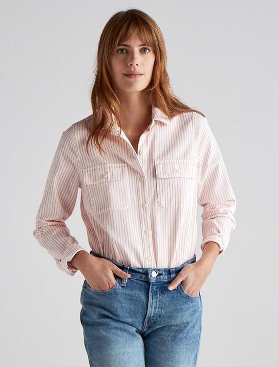 JAX STRIPED SHIRT, PINK STRIPE, productTileDesktop