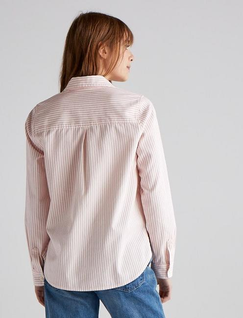 JAX STRIPED SHIRT, PINK STRIPE
