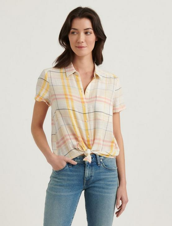 SUMMER SHIRT, YELLOW MULTI, productTileDesktop