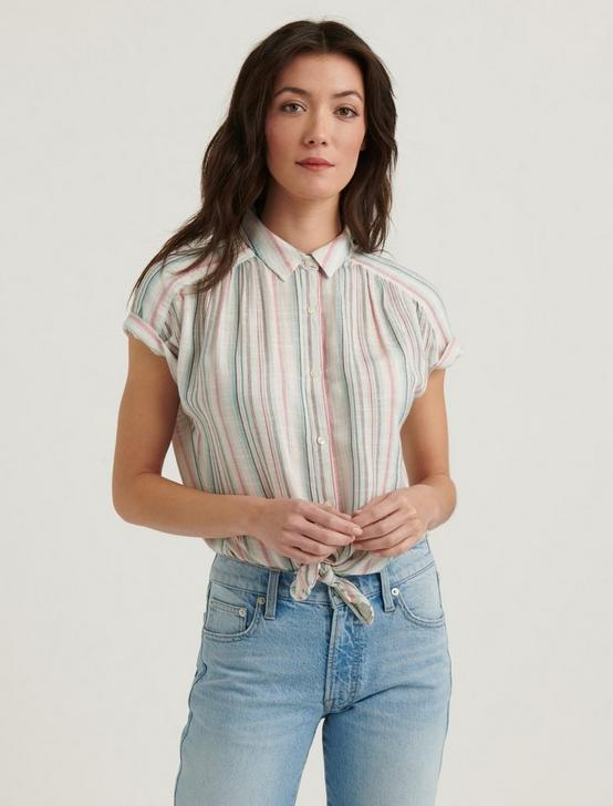 STRIPED SKYLAR SHIRT, MULTI, productTileDesktop