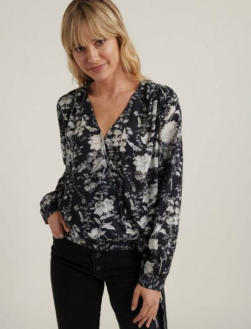 SAWYER WRAP TOP,