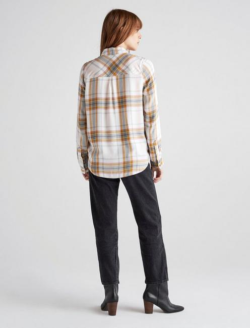CLASSIC PLAID, NATURAL MULTI