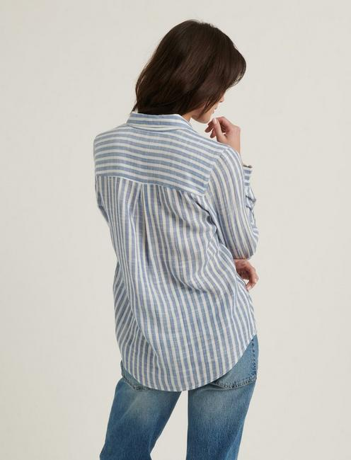 CLASSIC ONE POCKET, BLUE STRIPE