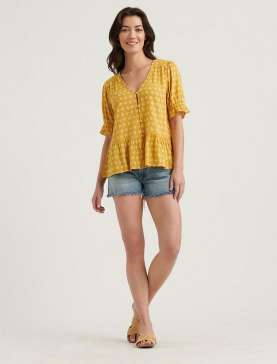 AYA TOP, YELLOW MULTI, productTileDesktop