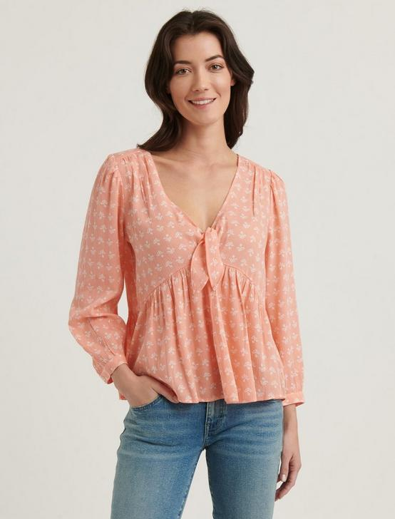 MALIA BLOUSE TOP, PINK MULTI, productTileDesktop