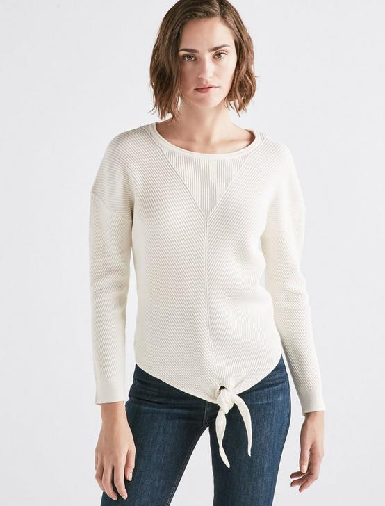 Tie Front Sweater