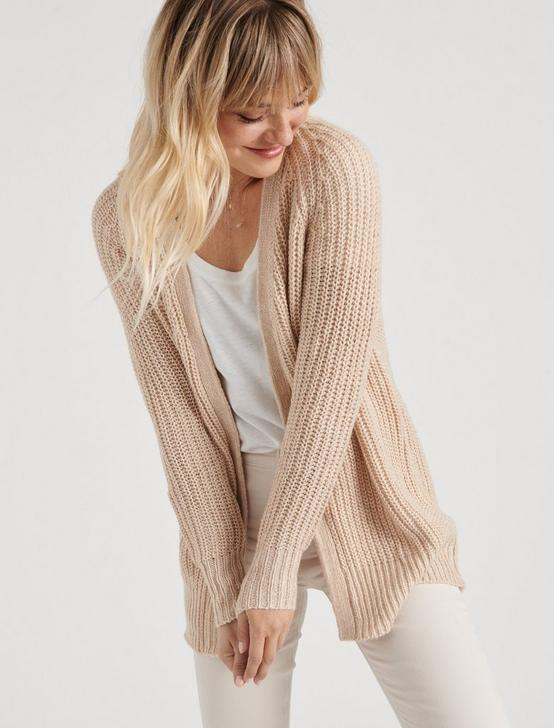 PEACH CARDIGAN, MELLOW ROSE, productTileDesktop