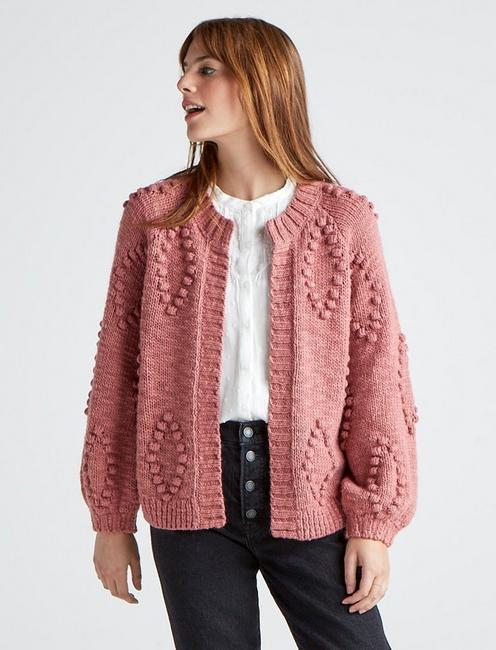 BOBBLE CARDIGAN,