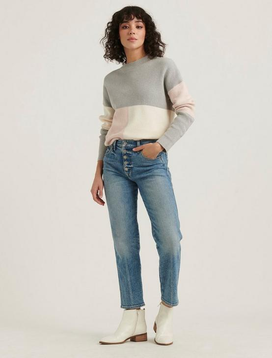 COLORBLOCK PULLOVER, MULTI, productTileDesktop