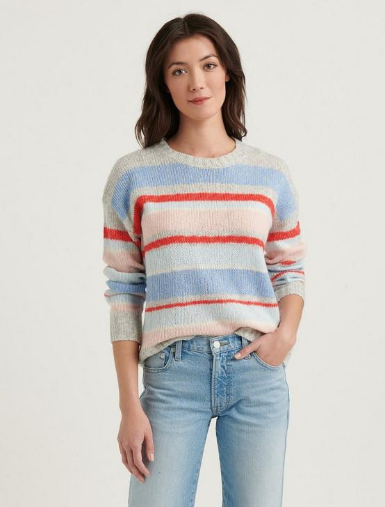 MULTI STRIPE PULLOVER, MULTI, productTileDesktop