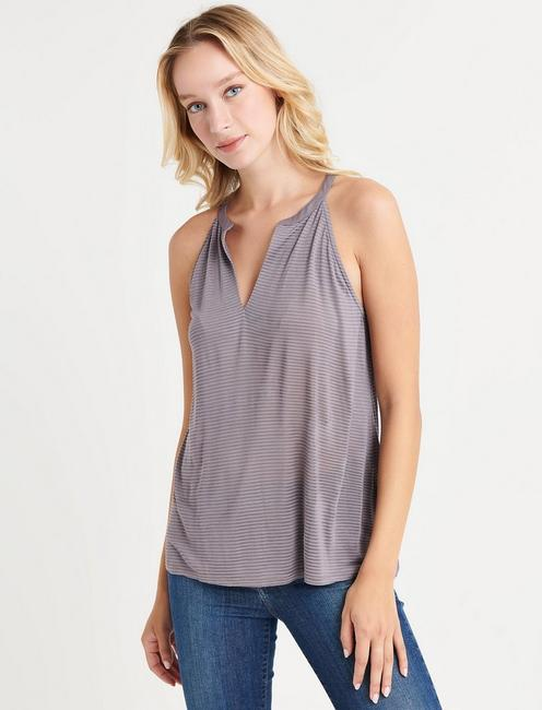 SHADOW STRIPE TANK,