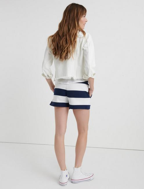 PREPPY SHORT, NAVY STRIPE