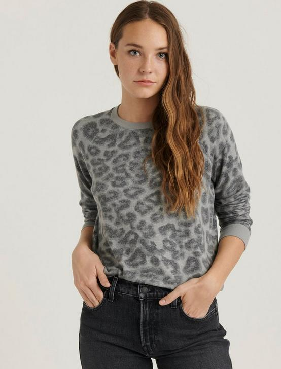 LEOPARD PULLOVER, GREY MULTI, productTileDesktop