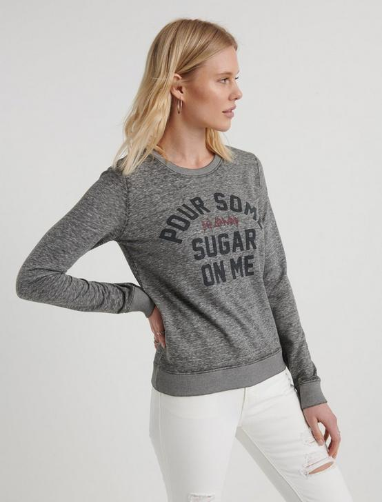 POUR SOME SUGAR ON ME SWEATSHIRT, HEATHER GREY, productTileDesktop