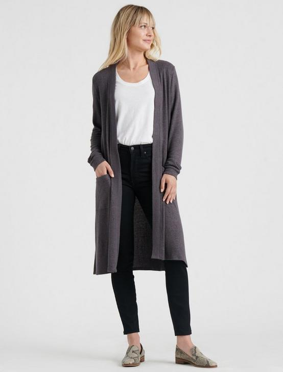 HACCI DUSTER, CHARCOAL HEATHER, productTileDesktop