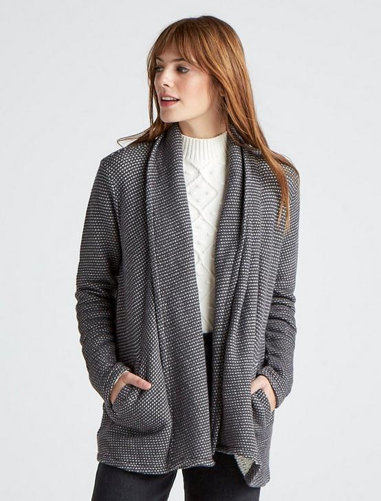 3rd PIECE CARDIGAN, GREY MULTI, productTileDesktop