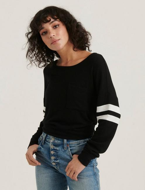 CLOUD JERSEY ATHLETIC PULLOVER, 001 LUCKY BLACK