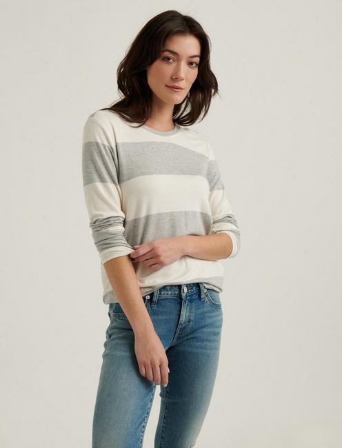 RUGBY STRIPED CLOUD JERSEY TEE,