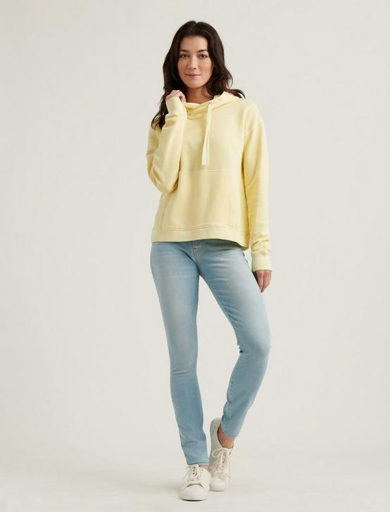 WASHED HOODIE, #1386 DOUBLE CREAM, productTileDesktop