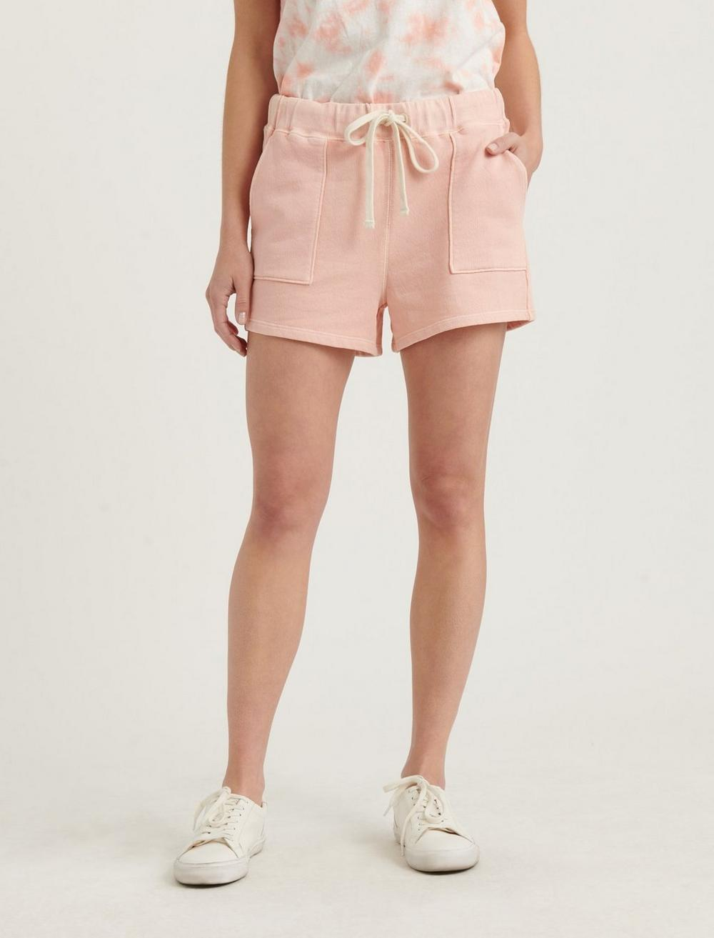 PATCH POCKET TERRY SHORTS, image 5
