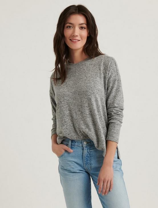 CLOUD JERSEY PULLOVER, HEATHER GREY, productTileDesktop
