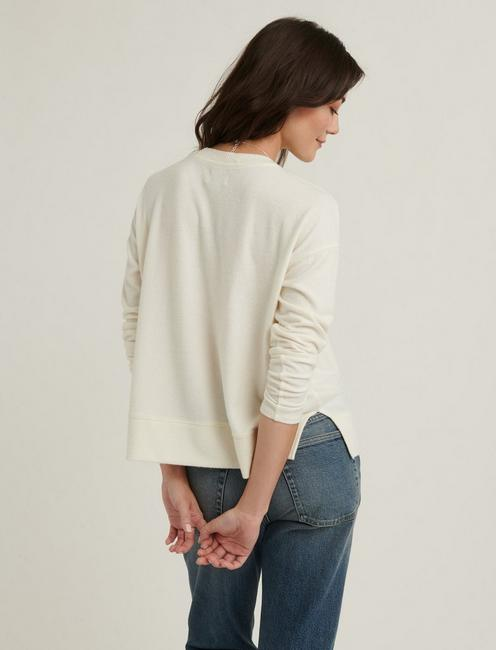 CLOUD JERSEY PULLOVER, MARSHMALLOW