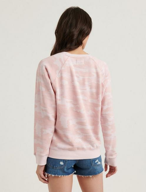 PINK CAMO PULLOVER, PINK MULTI
