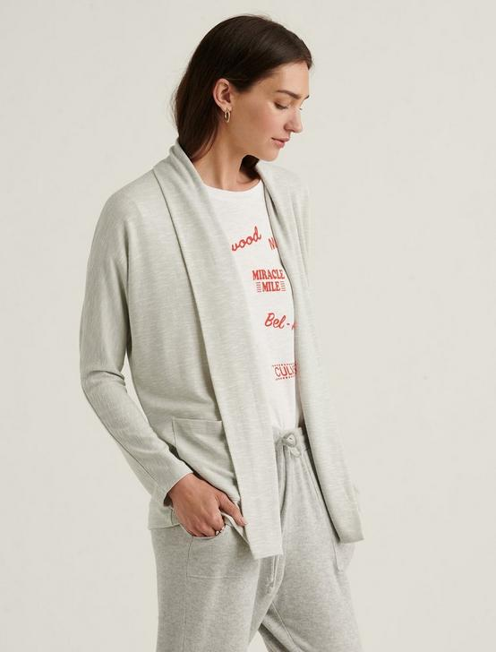 COZY CARDIGAN, LIGHT HEATHER GREY, productTileDesktop