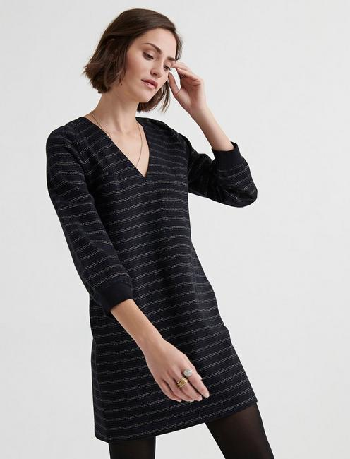 Lucky Knit Lurex Mini Dress