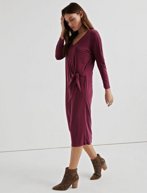 Lucky Sandwash Side Tie Dress