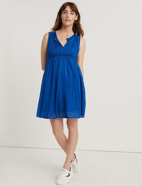 Sleeveless Hazell Peasant Dress