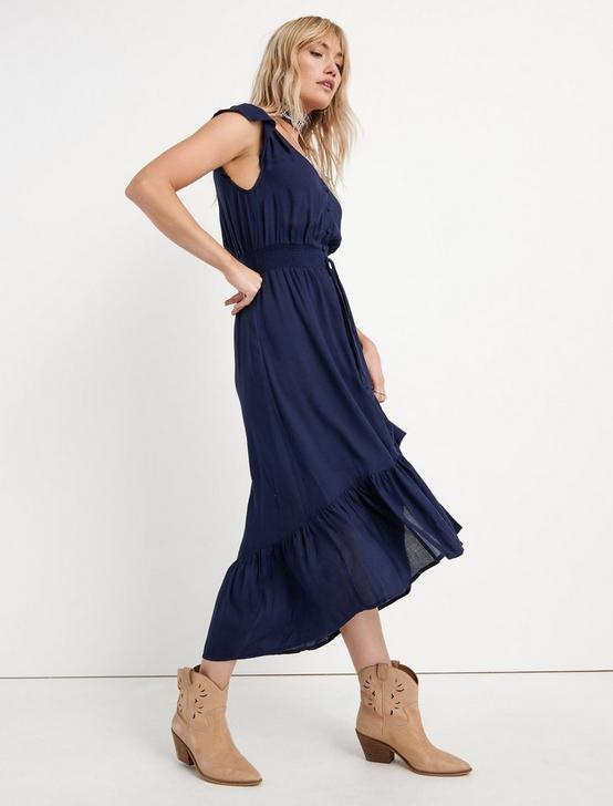 FELICE DRESS, AMERICAN NAVY, productTileDesktop