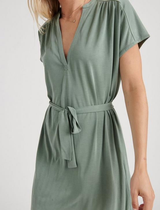 SANDWASH DRESS, DUCK GREEN, productTileDesktop