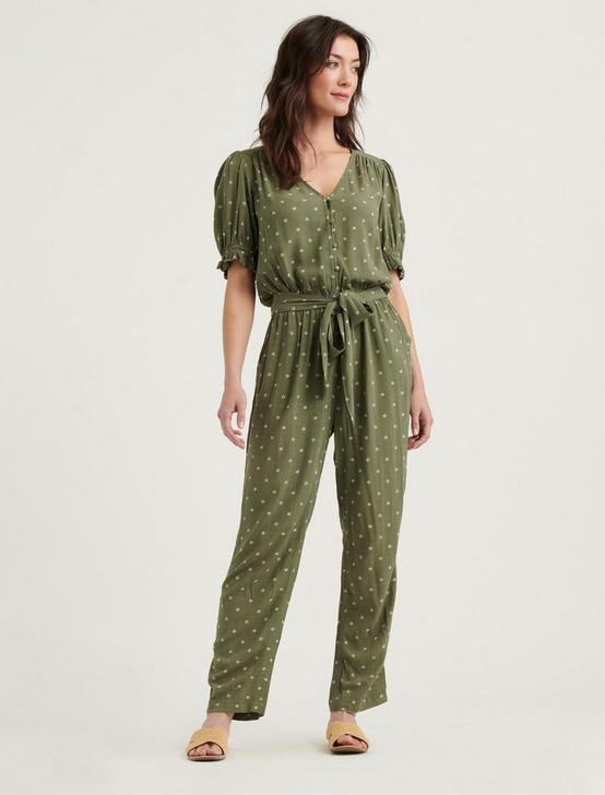 QUINCY JUMPSUIT, OLIVE MULTI, productTileDesktop