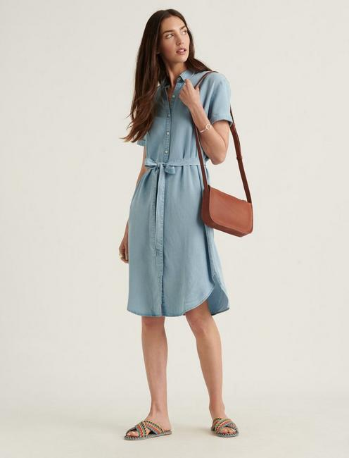 AVALON TENCEL SHIRT DRESS,