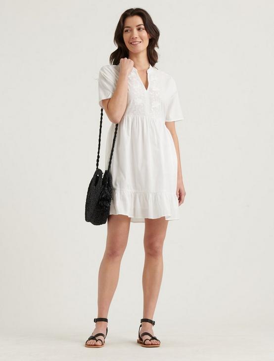 MEADOW DRESS, LUCKY WHITE, productTileDesktop