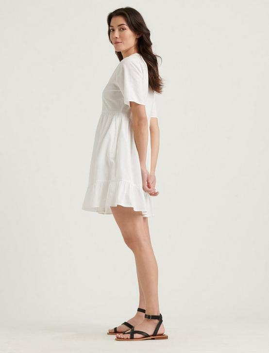 MEADOW DRESS, LUCKY WHITE, productTileDesktop