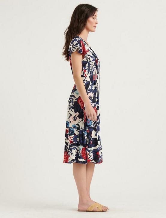 OLIVIA DRESS, MULTI, productTileDesktop