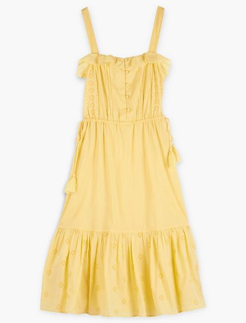 EYELET BEVERLY DRESS,