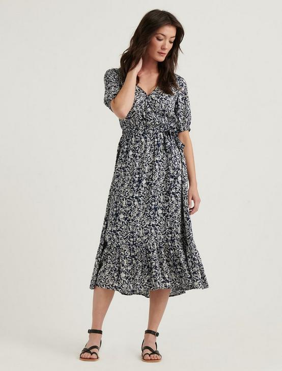 SOPHIE MAXI DRESS, NAVY MULTI, productTileDesktop