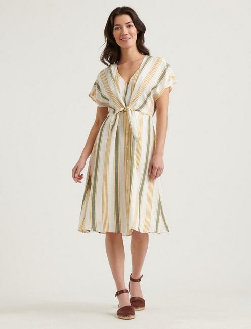 STRIPED SANDY DRESS,